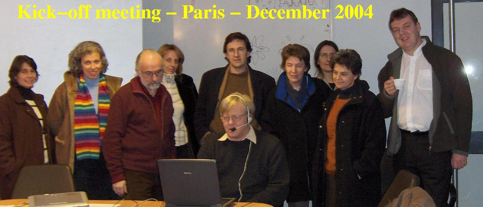 EU-HOU Team in Paris, 2004